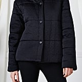 Fendi Black Quilted Zucca Down Coat