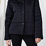 Fendi Black Quilted Zucca Down Coat