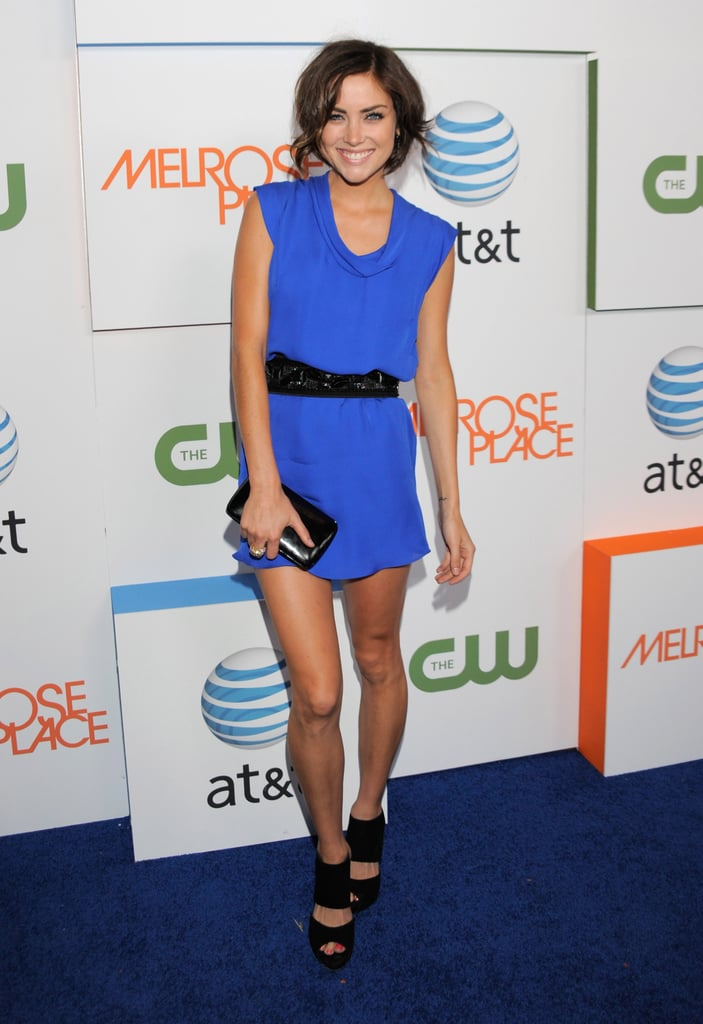 Photos of Ashlee Simpson at the Melrose Place Premiere Party