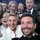 The Epic Oscars Selfie
