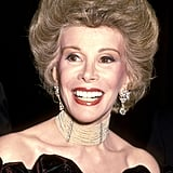 Joan Rivers's Helmet Hair