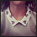 Isn't Marisa's J.Crew collar adorable? Totally nailed it.