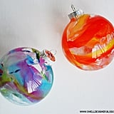 DIY Crayon Drip Ornaments