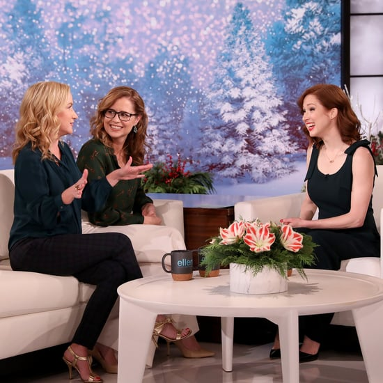 The Office's Angela, Pam, and Erin Reunite on The Ellen Show