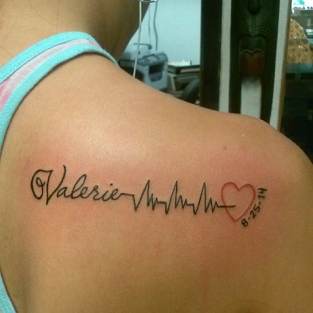 Tattoos To Represent Baby Or Child Popsugar Family