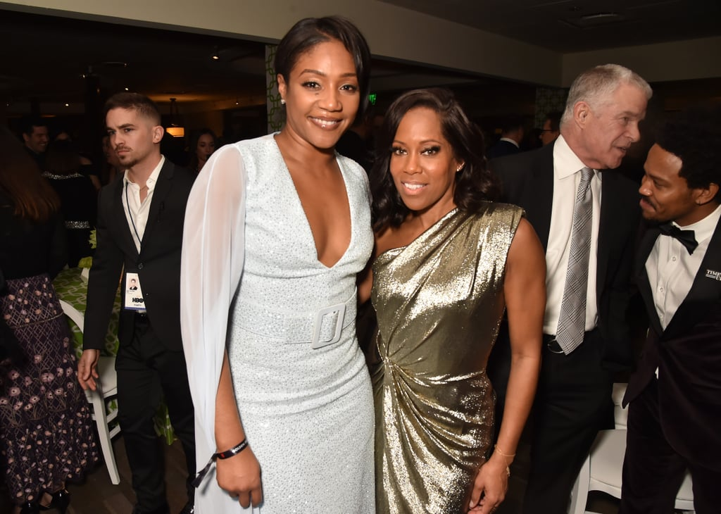 Pictured: Tiffany Haddish and Regina King