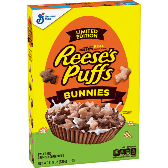 Where to Buy Reese's Puffs Bunnies Cereal 2021