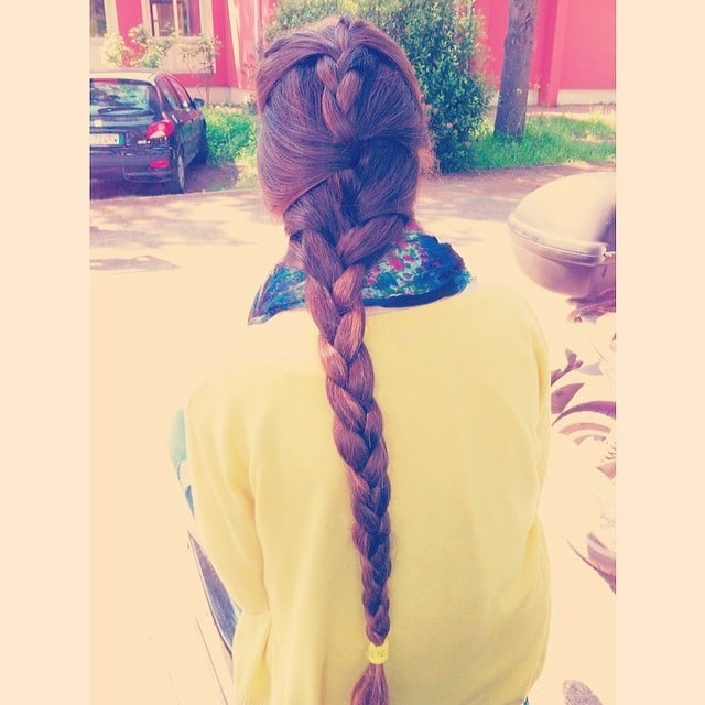 Ropelike Braid | Best Braids on Instagram | POPSUGAR Beauty