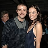 Justin and Olivia Wilde stopped for photos at the Hollywood premiere of Alpha Dog in 2007.