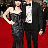 Carly Rae Jepsen posed with Matthew Koma on the red carpet.