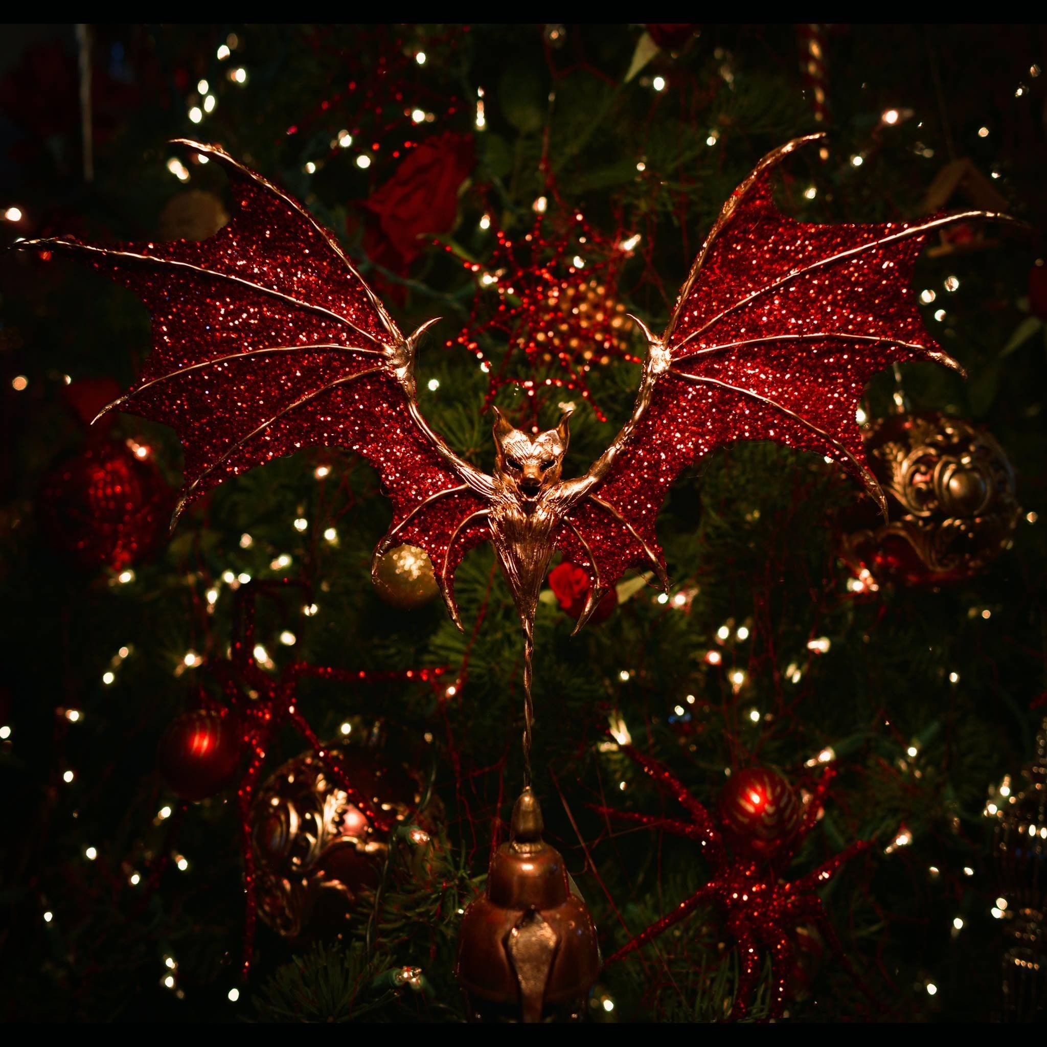 Christmas Halloween.Christine Mcconnell Halloween Christmas Tree Ornaments 2018
