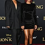 Chloe x Halle Wearing Philosophy at The Lion King's Premiere