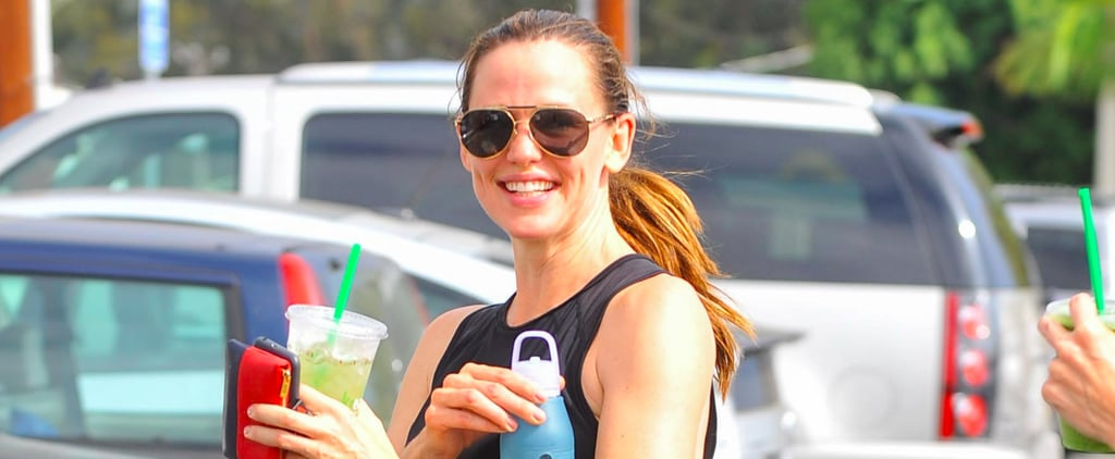 Jennifer Garner Can't Stop Flashing Her Famous Grin, Even While Leaving the Gym