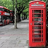 Plus, there are a ton of classic red phone boxes lining the park. You know, in case snapping a photo in front of one is on your bucket list!