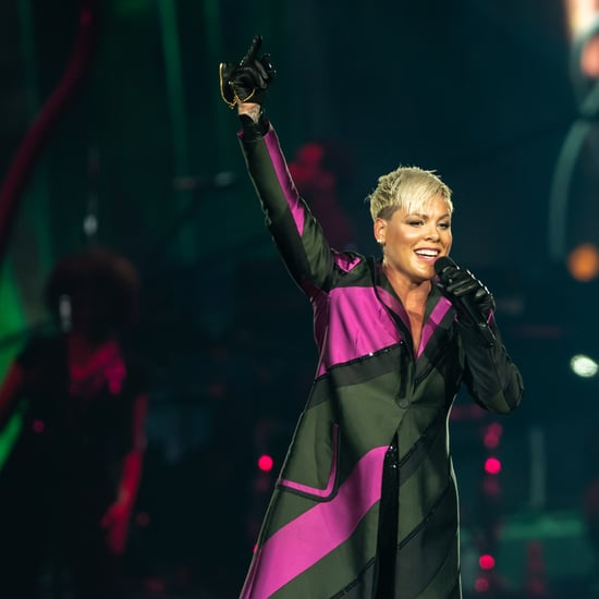 Pink Hugs Teen Fan During Australia Concert
