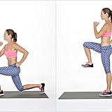 Reverse Lunge With Over-Leg Reach