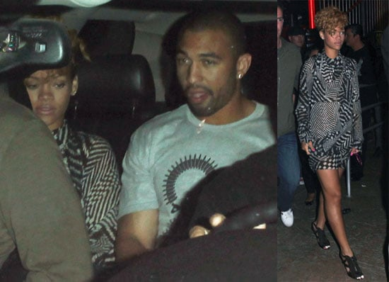 Photos of Rihanna Leaving a Bar in Cabo With Matt Kemp