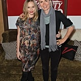 Stylish Kate Bosworth posed with Australian actress Radha Mitchell.