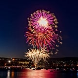Or the pretty fireworks shows.