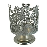 Sonoma Goods for Life Snowflake Large Candle Jar Holder