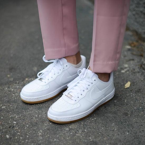 Pink Suede Nike Air Force Ones