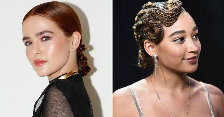 Updos For Bob Haircuts And Short Hair Popsugar Beauty