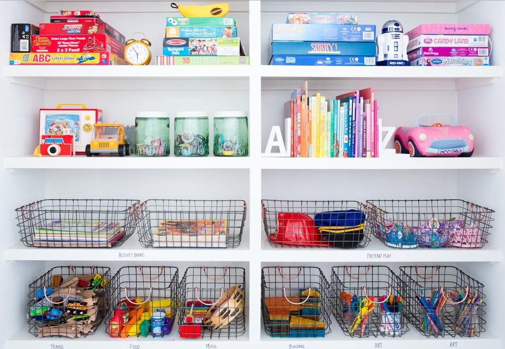 How to Organize Kids' Toys