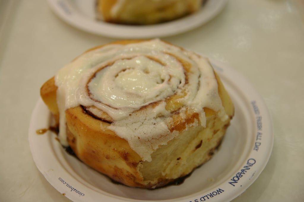 Tax Day Bites at Cinnabon