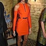 At The Fashion Awards Nominees' lunch in London on Dec. 4.