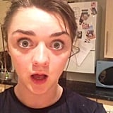 Maisie Williams's Game of Thrones Response