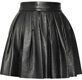 Leather Pleated Skirts for Autumn Winter 2010