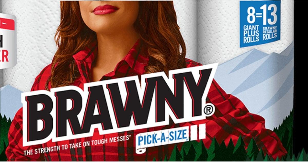 Brawny Woman Paper Towels Popsugar Home