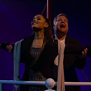 Ariana Grande and James Corden's Titanic Soundtrack Video