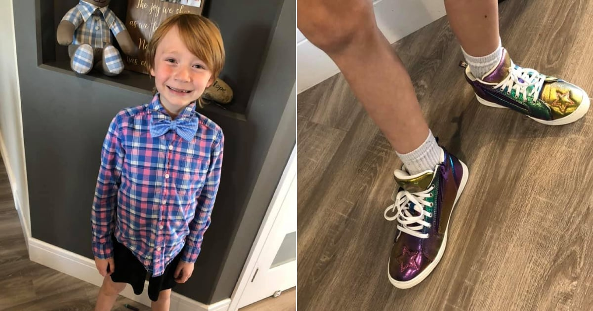 "A Mom on Battling Gender Norms While Shoe Shopping With Her Son: ""It's About Challenging the Status Quo"""