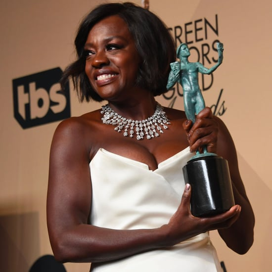 Viola Davis Talking About Diversity at the 2017 SAG Awards