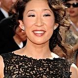 Sandra Oh's Gray Eyeshadow