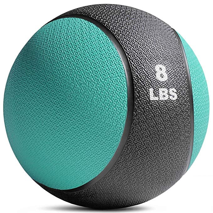 Titan Fitness 8-Pound Weighted Medicine Ball | Home Gym