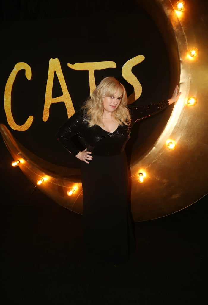 Rebel Wilson at the Cats World Premiere in NYC