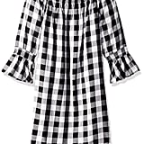 7 For All Mankind Girls' Off The Shoulder Dress