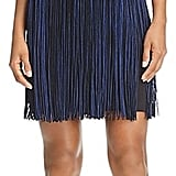 Aidan Aidan Scuba Fringe-Skirt Dress