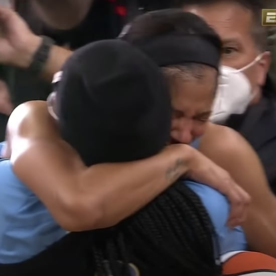 Watch Candace Parker Celebrate 2021 WNBA Final With Daughter