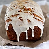 Eggnog Bread With Spiced Rum Glaze