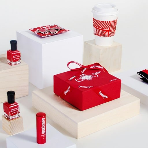 Shop Gifts That Help Fight AIDS With SHOPATHON (RED)
