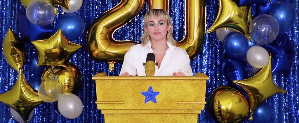 Miley Cyrus's #Graduation2020 Ceremony Performance | Video