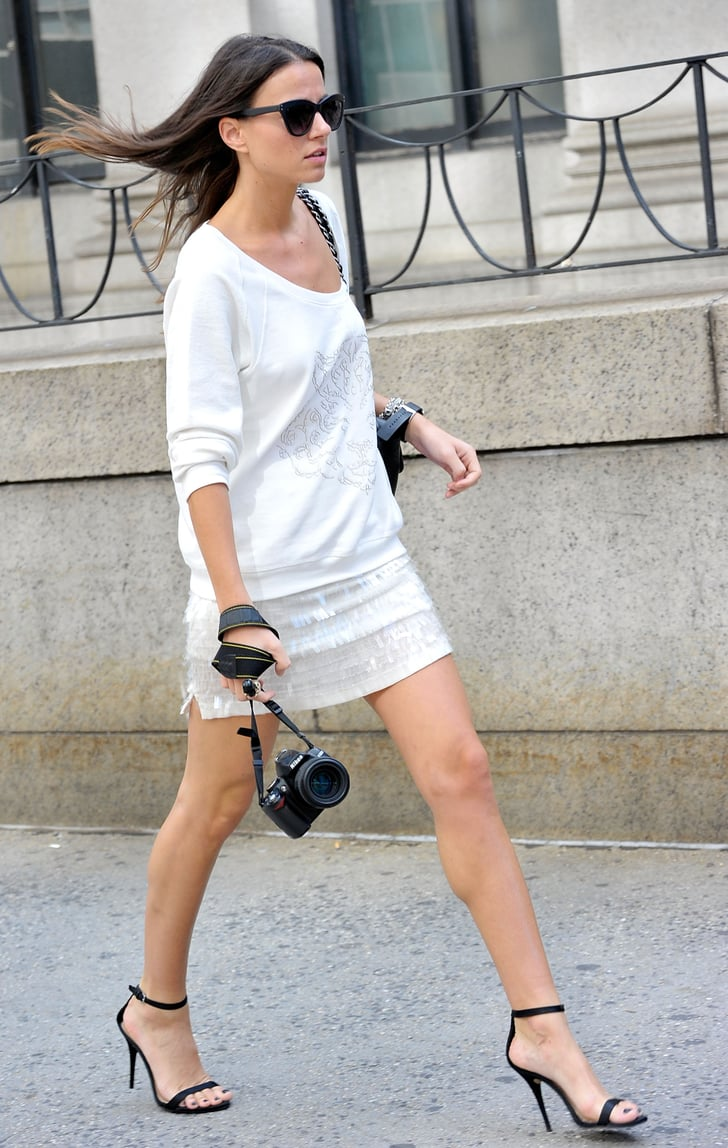 An Elegant Day Look Complete With Sexy Ladylike Heels Best Street Style Of 2012 Pictures