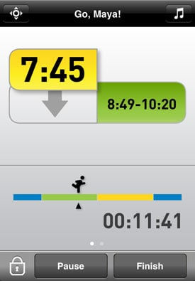 MiCoach Mobile App