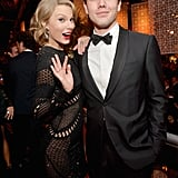 Taylor Swift brought her brother to the Weinstein afterparty.