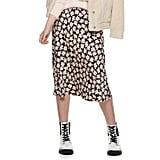 POPSUGAR Midi Slip Skirt