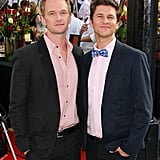 Neil Patrick Harris and David Burtka walked the red carpet in LA.