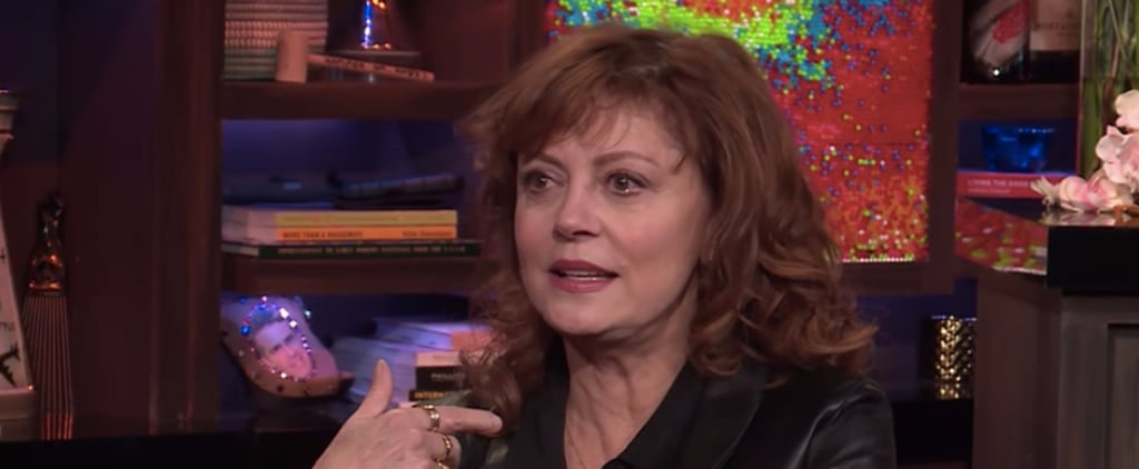 "Susan Sarandon Says Debra Messing Is ""Trumpian"" and ""Misinformed"""